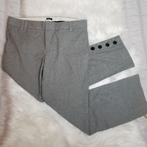 GAP Stretch Button Straight Leg Trousers